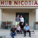 Project partners at HUB Nicosia